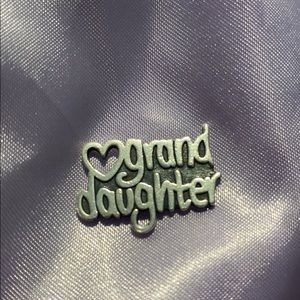 James Avery Grand Daughter Charm